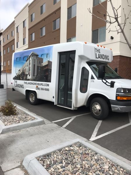 Photo of the Free Tenant Shuttle