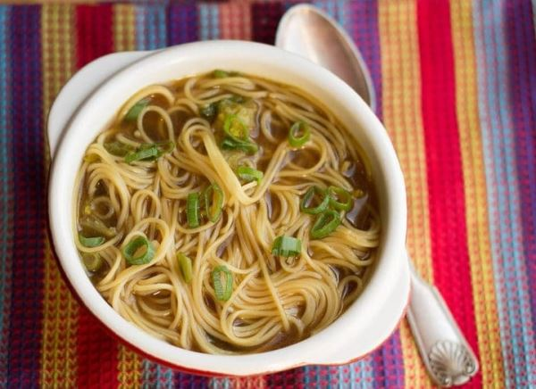 Photo of chinese noodle soup