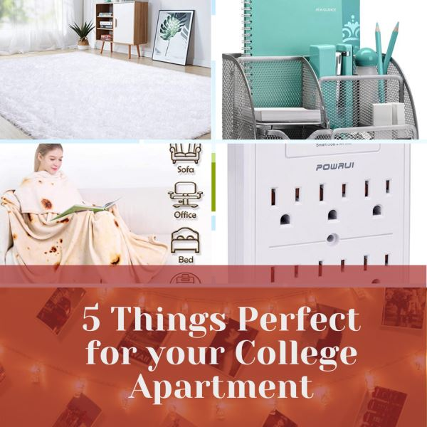 Photo of 5 Things Perfect for your College Apartment